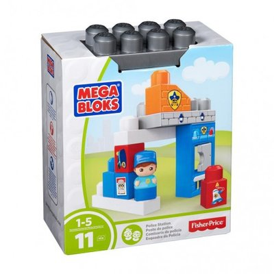 56 Fisher Price Mega bloks police station