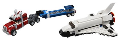 31091 LEGO Creator Spaceshuttle Transport