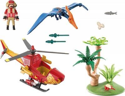 9430 PLAYMOBIL Helikopter met dinosaurus Pteranodon