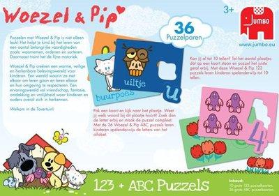 18417 Woezel & Pip ABC +123