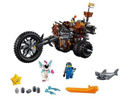 70834 LEGO MOVIE 2 Metaalbaards heavy metal trike