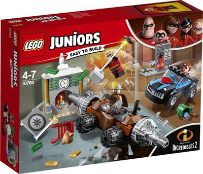 10760 LEGO Juniors Underminer's bankoverval