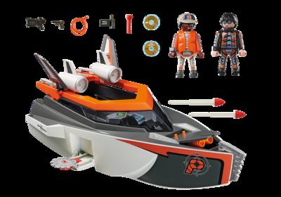 70002 Playmobil SPY TEAM Turboschip