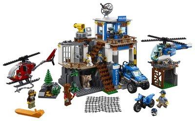 60174 LEGO City Bergpolitie Politiekantoor op de Berg