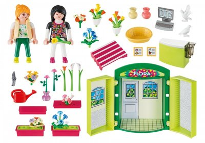 5639 Playmobil Speelbox Bloemenwinkel