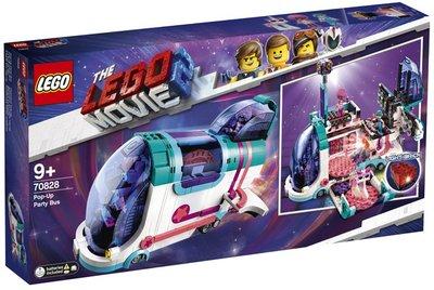 70828 LEGO The Movie 2 Uitklap Feestbus