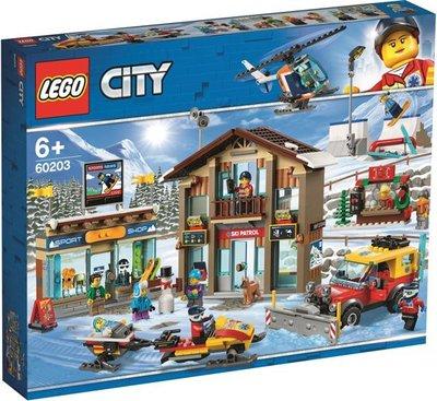 60203 LEGO City Skiresort