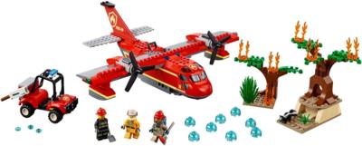60217 LEGO City Brandweervliegtuig