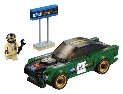 75884 LEGO Speed Champions 1968 Ford Mustang Fastback