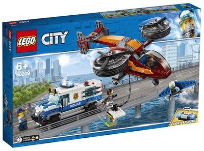 60209 LEGO City Luchtpolitie Diamantroof