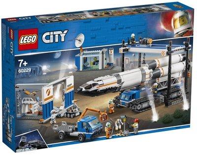 60229 LEGO City Ruimtevaart Raket Bouwen en Transporteren