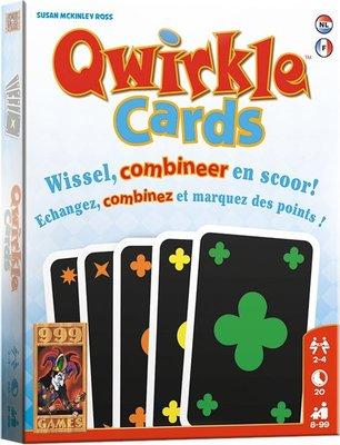 999Games Qwirkle Cards Kaartspel