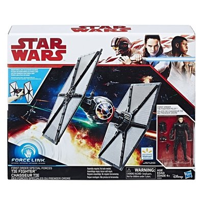 3224 Star Wars Episode VIII Vehicle with Figure 2017 First Order Special Forces TIE Fighter