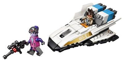 75970 LEGO Overwatch Tracer vs. Widowmaker