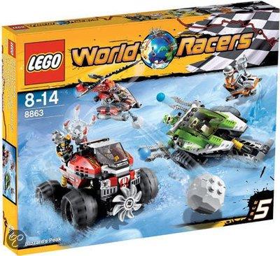 8863 LEGO World Racers Sneeuwstorm Spits
