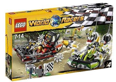 8899 LEGO World Racers Krokodillenmoeras