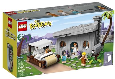 21316 LEGO Ideas The Flintstones
