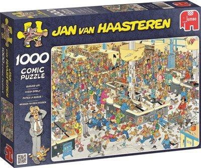 17466 Jumbo Puzzel Jan van Haasteren Kassa Erbij! 1000 Stukjes