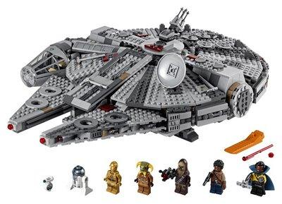 75257 LEGO Star Wars Millennium Falcon