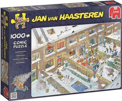 19030 Jumbo Puzzel Jan van Haasteren Kerstavond 1000 stukjes