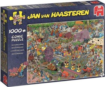 19071 De Bloemencorso Jan van Haasteren Puzzel 1000 Stukjes