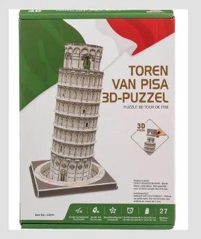 241 TOREN VAN PISA 3D-PUZZEL 27 Stukjes