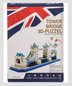 238 TOWER BRIDGE 3D-PUZZEL 52 Stukjes