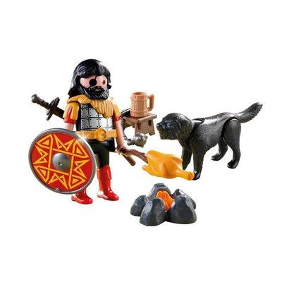 4769 PLAYMOBIL Special Plus Barbaar met Kampvuur en Hond
