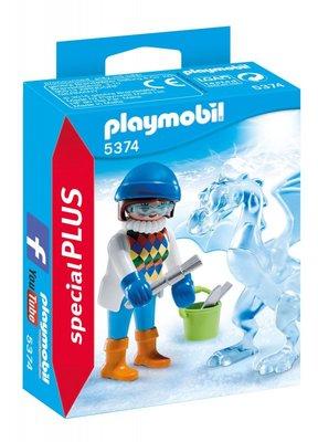 5374 PLAYMOBIL Special Plus Artiste met ijssculptuur