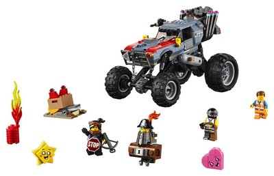 70829 LEGO The Movie 2 Emmets en Lucy's Vlucht Buggy!