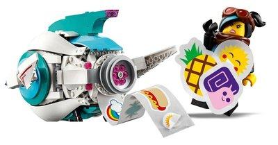 70830 LEGO The Movie 2 Lieve Chaos' Systar Ruimteschip!