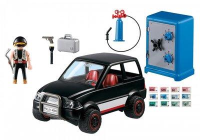 4059 Playmobil Brandkastkraker Met Vluchtauto