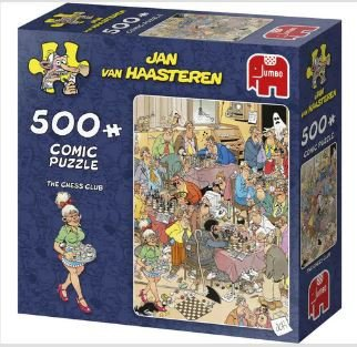 81317  Jan van Haasteren The Chess Club Puzzel 500 stukjes