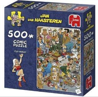 81723 Jan van Haasteren Flea Market Puzzel 500 stukjes