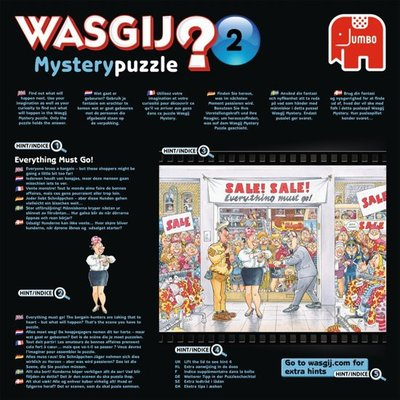 81519 Jumbo Wasgij Mystery 7 Uitverkoop Puzzel 500 stukjes