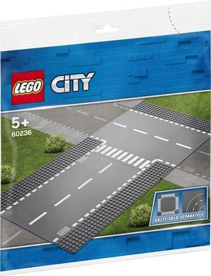 60236 LEGO City Rechte en T-splitsing