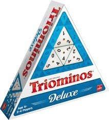 60726 Triominos The Original Deluxe Familiespel