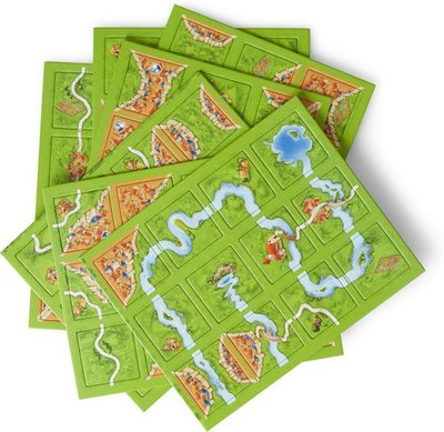 999Games Carcassonne Basisspel Nieuwe Editie