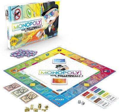 4989 Monopoly voor Millennials - Bordspel