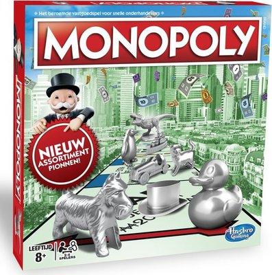 1009 Hasbro Monopoly Classic Nederland - Bordspel