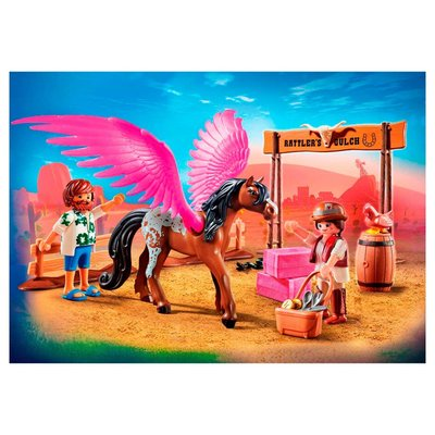 70074 Playmobil the Movie Marla en Del met Gevleugeld Paard