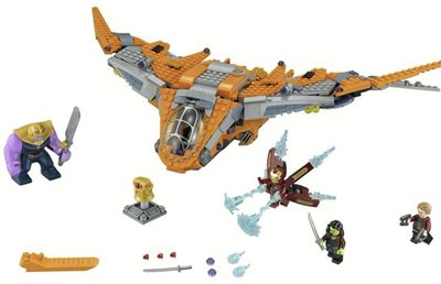 76107 LEGO Super Heroes Thanos: Het Ultieme Duel