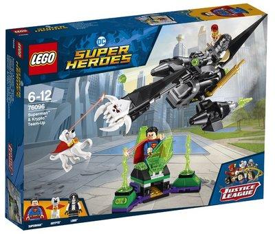 76096 LEGO Super Heroes Superman en Krypto Werken Samen