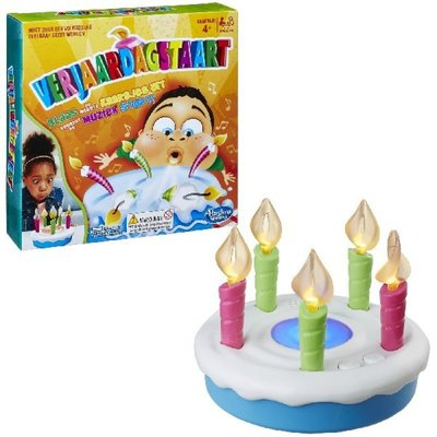 0887 Hasbro Verjaardagstaart - Kinderspel