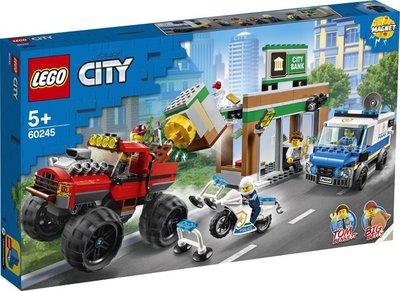60245 LEGO City Politiemonstertruck Overval
