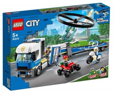 60244 LEGO City Politie Helikoptertransport