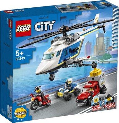 60243 LEGO City Politiehelikopter Achtervolging