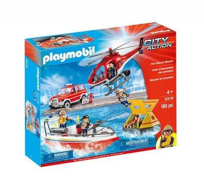 9319 Playmobil Brandweer Reddingsmissie