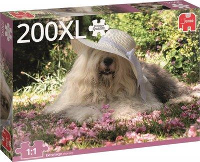 18515 Jumbo Puzzel Sophie the Dog Premium Collection 200XL Stukjes