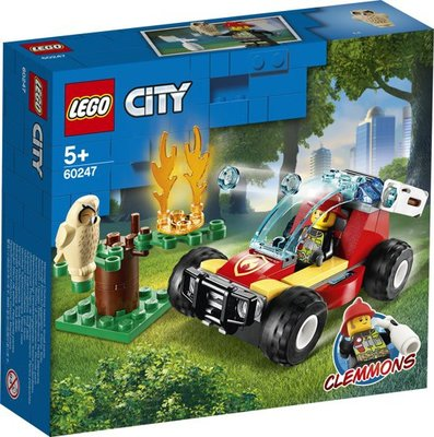 60247 LEGO City Brandweer Bosbrand